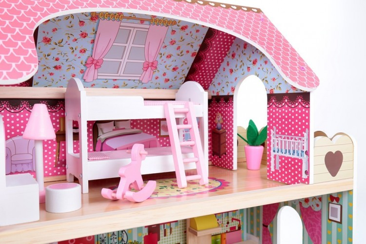 our best 8 kidkraft dollhouses reviewed your kids will love. Black Bedroom Furniture Sets. Home Design Ideas