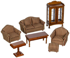 Melissa & Doug Deluxe Doll House Furniture