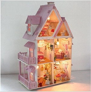 Alice Love Home Dollhouse Kit
