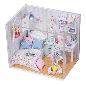 Cuteroom Dollhouse Miniature DIY House Kit