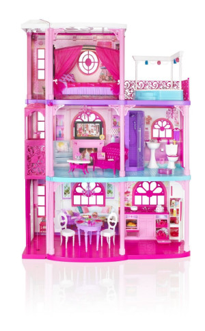 Barbie 3-Storey Dream Townhouse