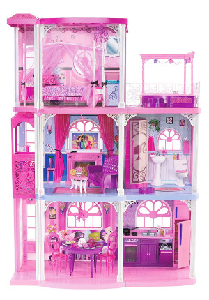 Barbie Pink 3-Storey Dream Townhouse