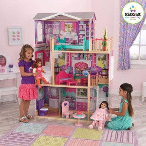 Elegant Wooden Modern Dollhouse By Kidkraft