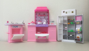 In Most Cases Barbie Houses Come With Furniture