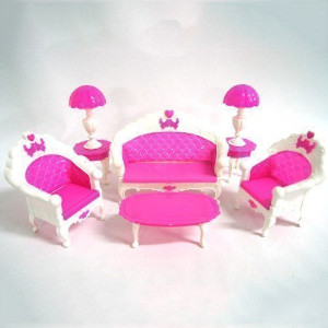 Kidsdream Cartoon Princess Dollhouse Furniture