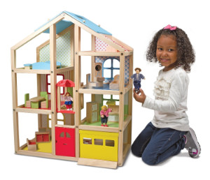 Melissa & Doug High Rise Doll House