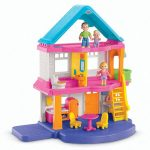 fisher-price my first dollhouse playset